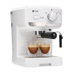 semi automatic coffee machine MC505WT, white