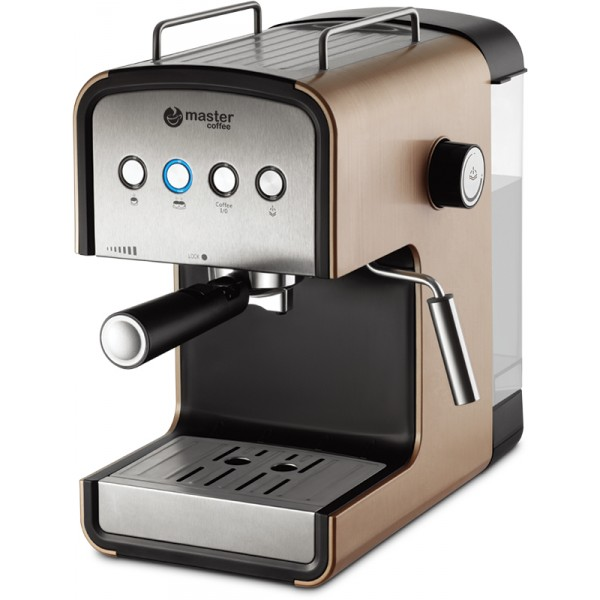 semi automatic coffee machine MC682C, brown