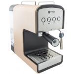 semi automatic coffee machine MC682C, brown