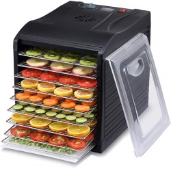 Dryers for vegetables and fruits